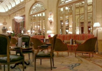Tea time at Madrid Ritz