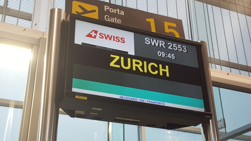 SWISS: The joy of flying